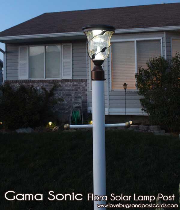 Gama Sonic Flora Solar Yard Light Review