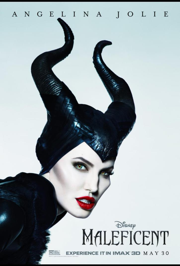 Maleficent Movie Poster - Angelina Jolie