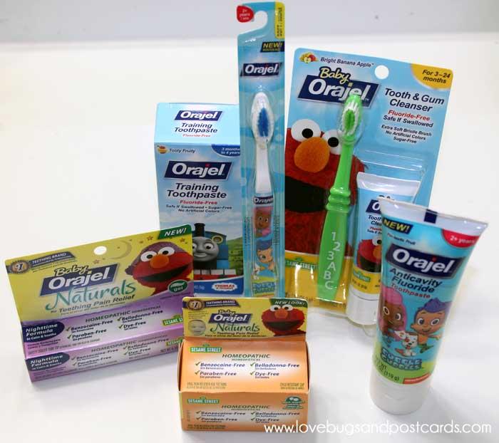Orajel Kids Products