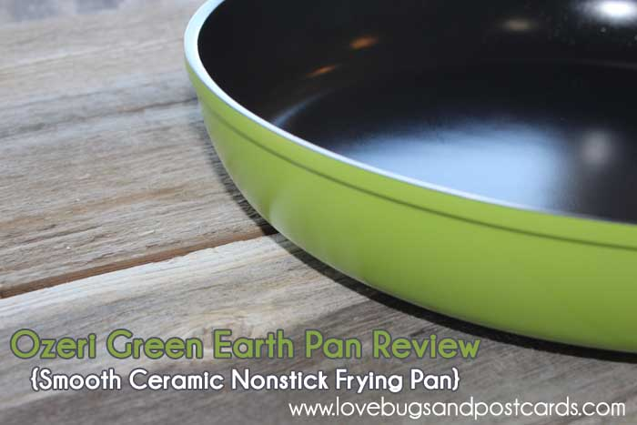 Ozeri Green Earth Pan Review {Smooth Ceramic Nonstick Frying Pan}
