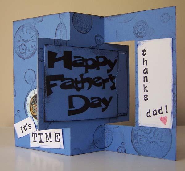 Fathers Day Swing Card