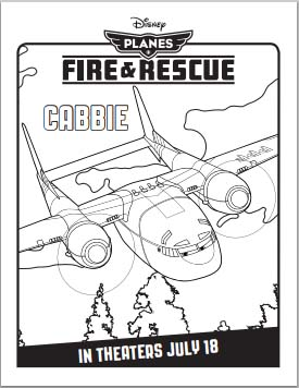 Planes: Fire and Rescue Coloring Pages
