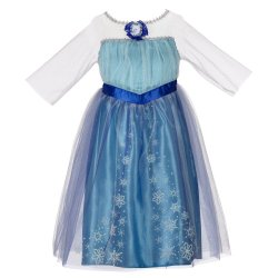Anna and Elsa FROZEN Costumes under $20 shipped!  {perfect for Halloween}