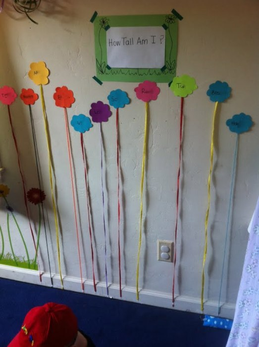 Height Chart Measuring Activity - Educational Activities for Kids
