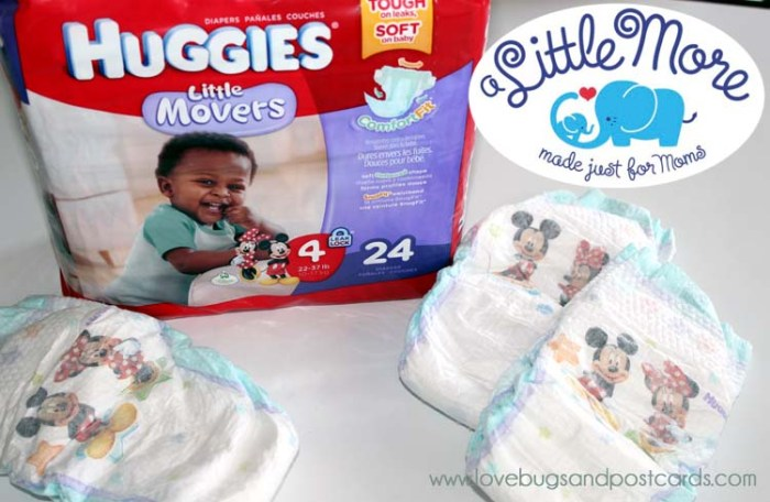 "I am getting ""A Little More"" at Walgreens with Huggies"