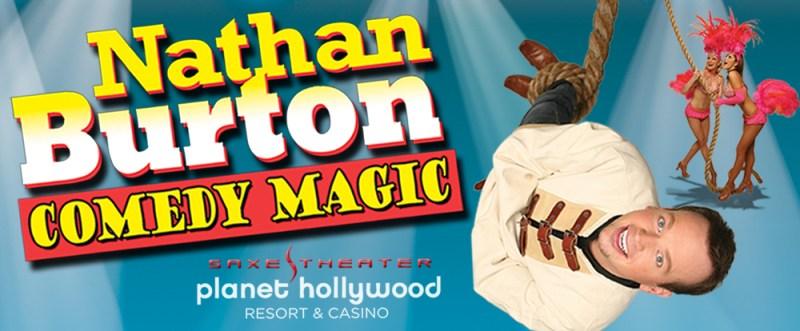 The Nathan Burton Comedy Magic Show