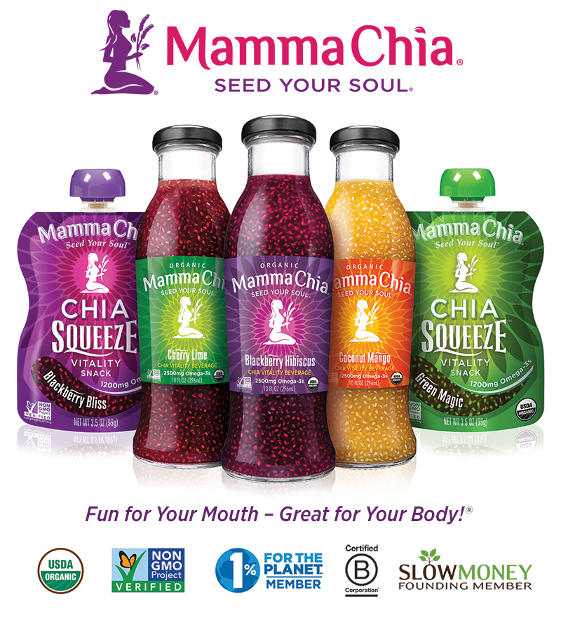 Mamma Chia logo with Bottles and Squeeze-800x881