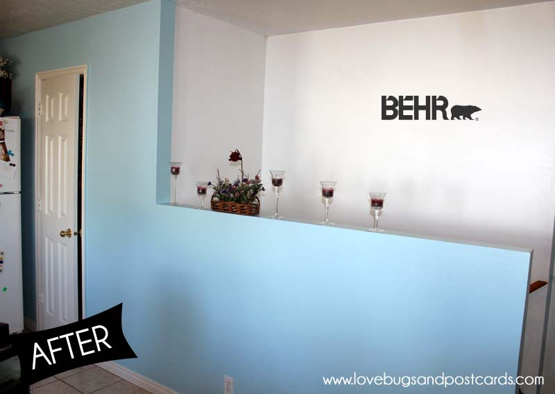 Behr Marquee Paint Review and our Kitchen Makeover