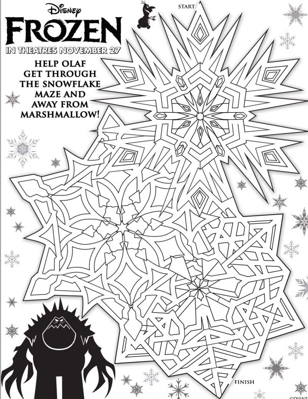Frozen Coloring Pages Large : Disney frozen coloring pages lovebugs and postcards