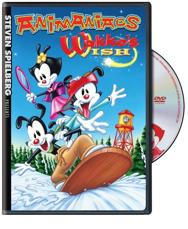 Steven Spielberg Presents Animaniacs: Wakko's Wish on DVD