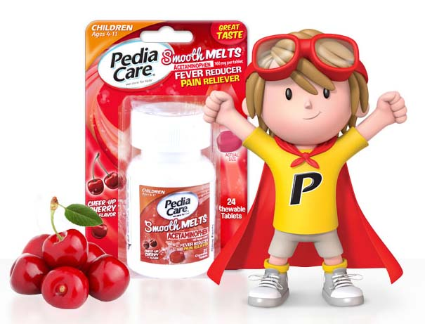 PediaCare® Smooth Melts™ work great for all of my kids #keepkidshealthy