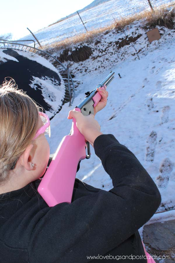 My daughters first time shooting a gun #ItsADaisy
