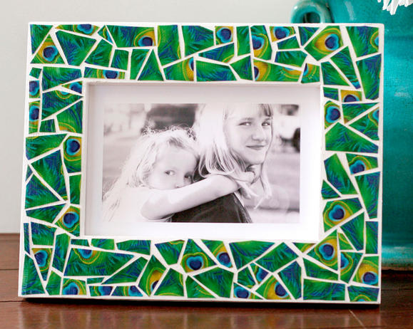 Duck Tape® Mosaic Picture Frame