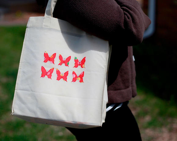 Duck Fabric® Crafting Tape Butterfly Tote