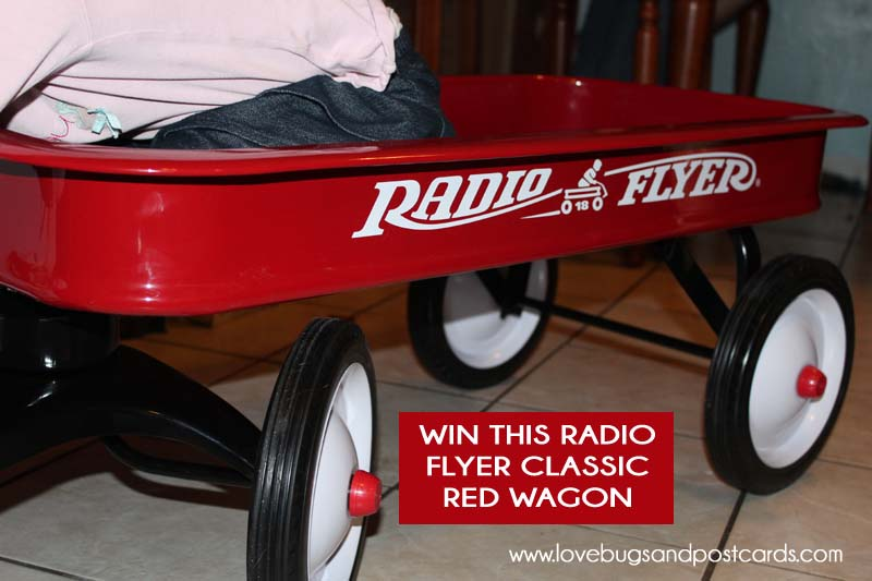 Radio Flyer Classic Red Wagon Giveaway - 25 days of Giveaways