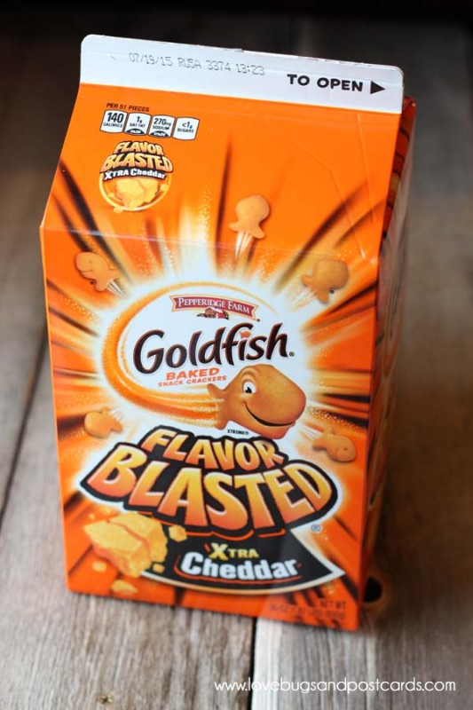 Goldfish and Parmesan Crusted Pork Chops Recipe