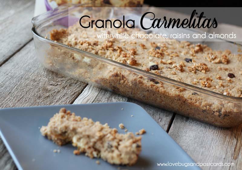 Granola Carmelitas Recipe