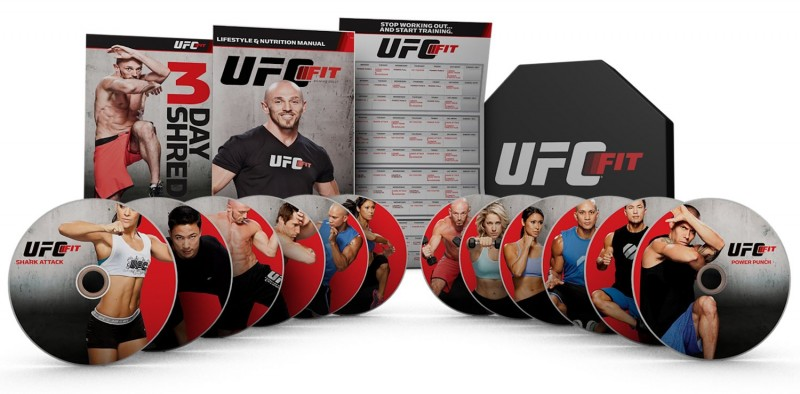Best Workout Video UFC Fit DVD Set