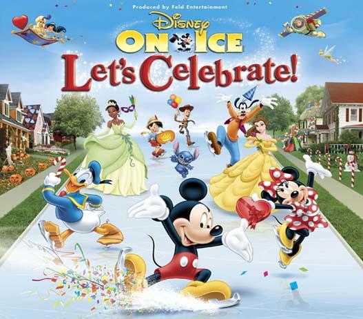 Disney on Ice Lets Celebrate