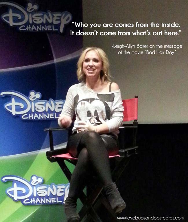 Bad Hair Day - Leigh-Allyn Baker Interview