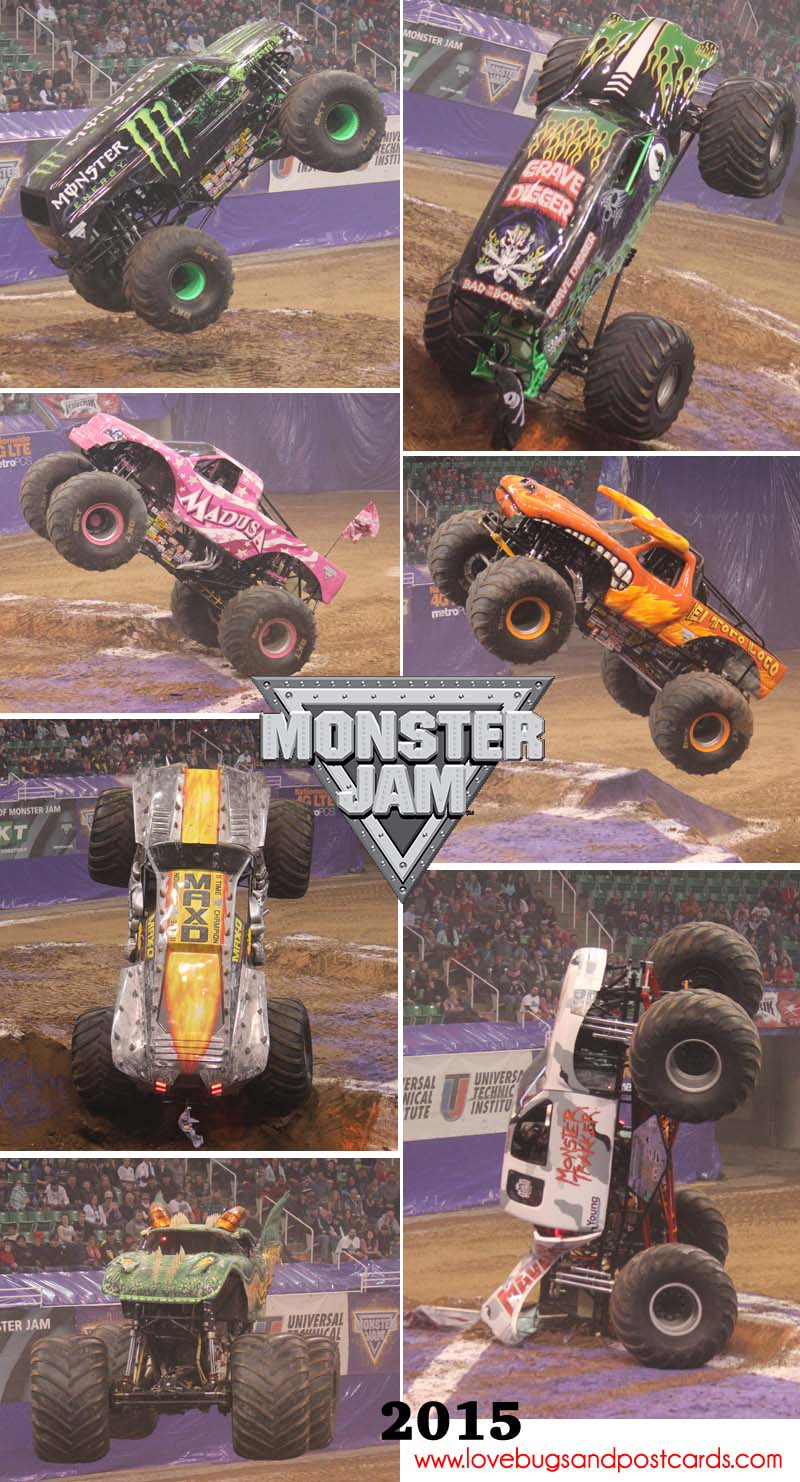 Monster Jam Truck Wheelies