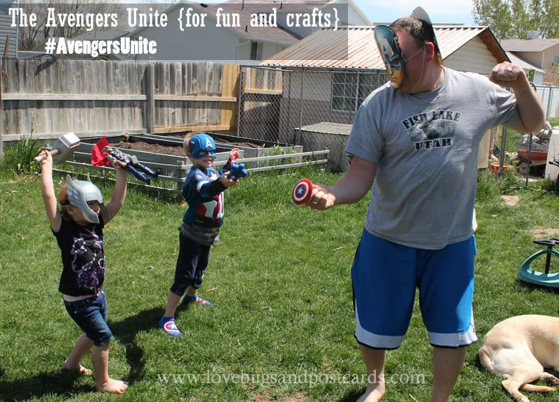 The Avengers Unite {for fun and crafts} #AvengersUnite