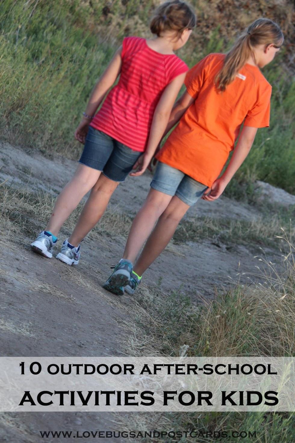 10 outdoor after-school activities for kids