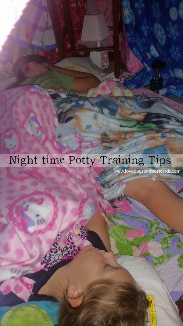 Night time Potty Training + Printable Rewards Chart