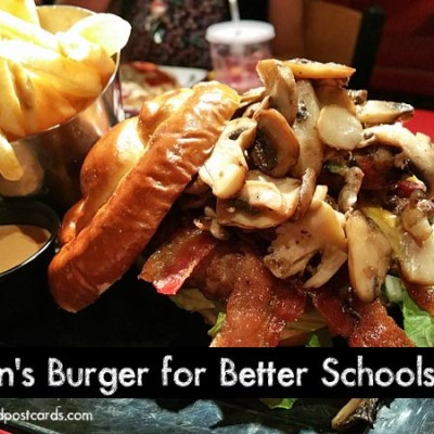 Red Robin's Burgers for Better Schools Program
