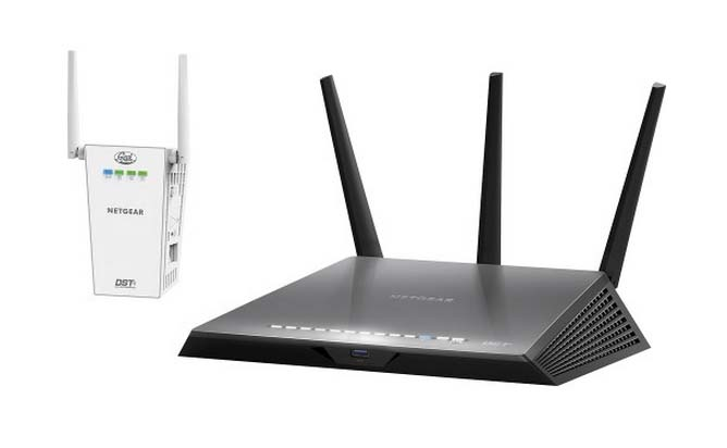 Netgear® Nighthawk™ DST Router and DST Adapter