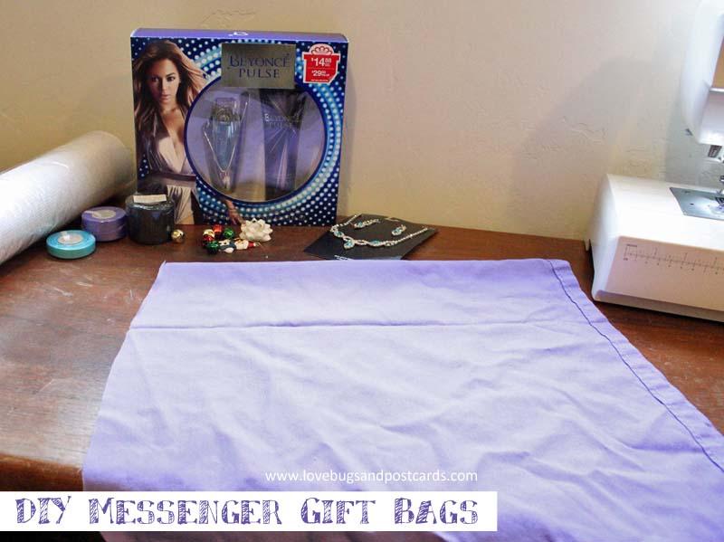 DIY Messenger Gift Bags