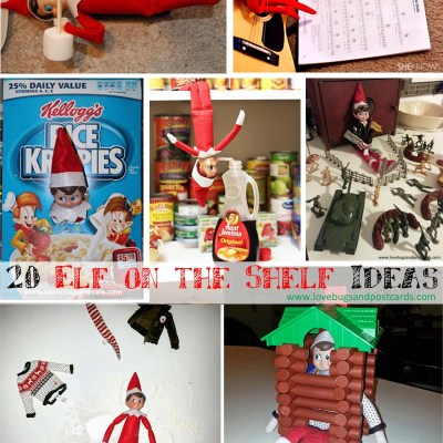 20 Elf on the Shelf Ideas