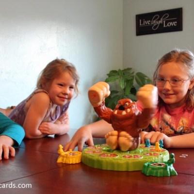 Family Game Night with Hasbro's Mashin' Max, Jenga Quake, and Twister