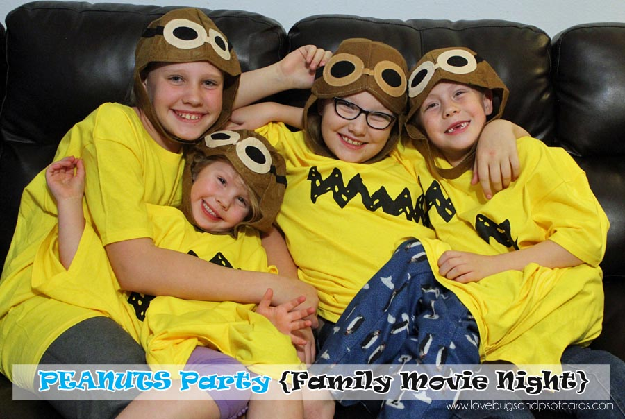 The Peanuts Movie {Family Movie Night Party}