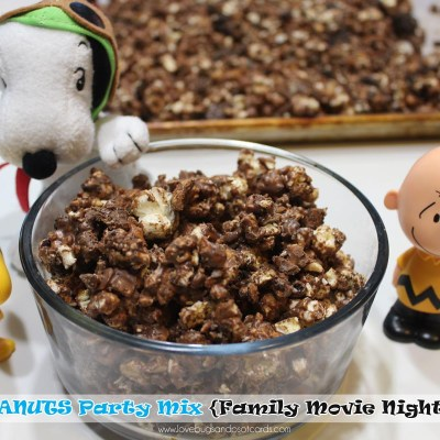 The Peanuts Movie {Family Movie Night Party} #PeanutsMovieNight + Giveaway