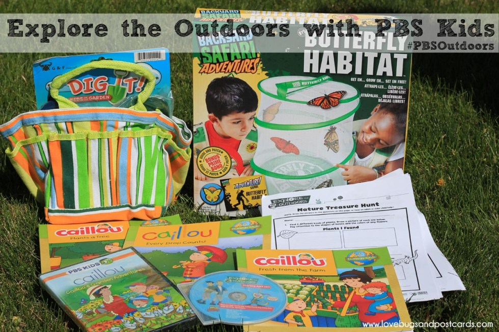 Explore the Outdoors with PDS Kids #PBSOutdoors