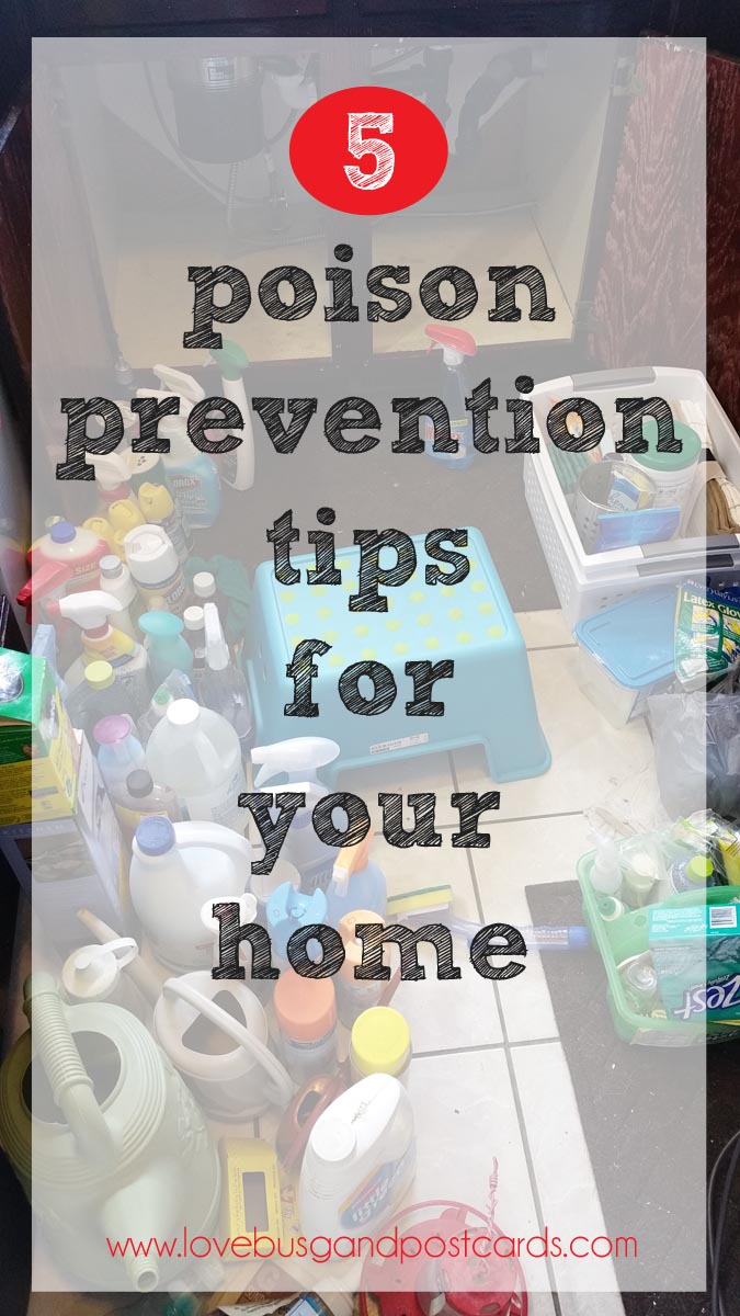 5 poison prevention tips for your home