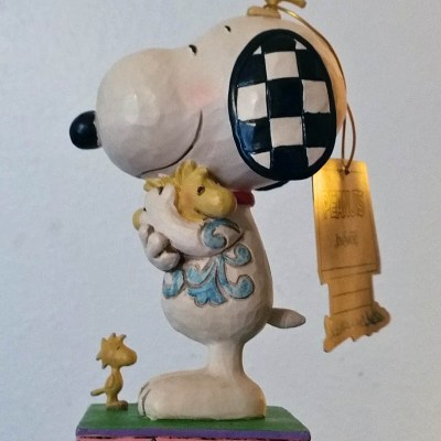 """Love is a Beagle Hug"" Peanuts Figurine Giveaway"