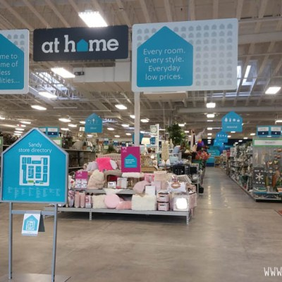 At Home Home Decor Superstore now open in Draper, Utah