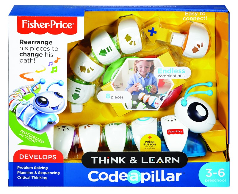 Introduce early learning with the Codeapillar at @BestBuy