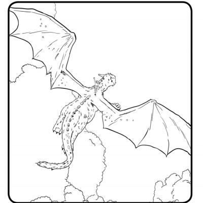 Disney's Pete's Dragon Coloring Pages #PetesDragon