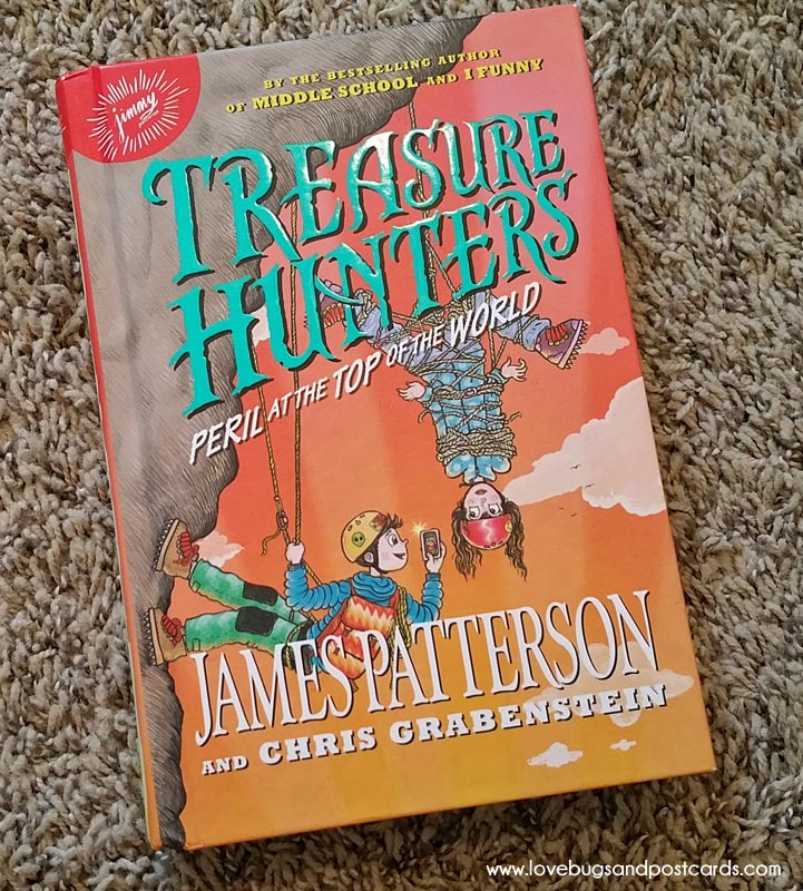 5 reasons to read Treasure Hunters: Peril at the Top of the World with your kids