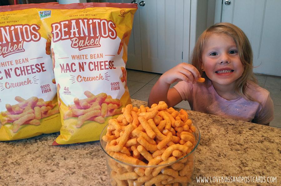 5 reasons you will love Beanitos Baked White Bean Mac N' Cheese Crunch