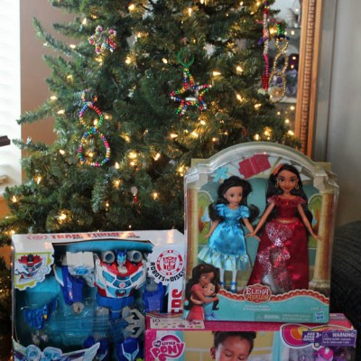 Three hot toys from Hasbro for Christmas this year: Transformers, My Little Pony and Disney's Elena of Avalor