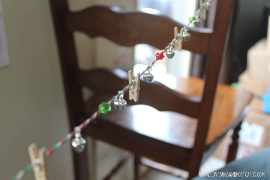 DIY Card/Picture Holder Garland