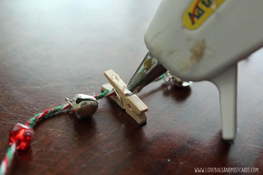 DIY Card/Picture Holder Garland