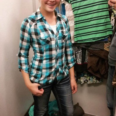 Christmas on a Budget – Clothes for my daughter from Deseret Industries