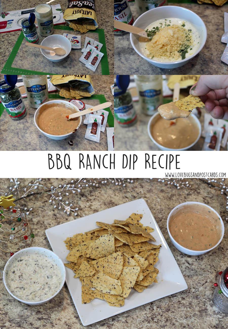 BBQ Ranch Dip Recipe
