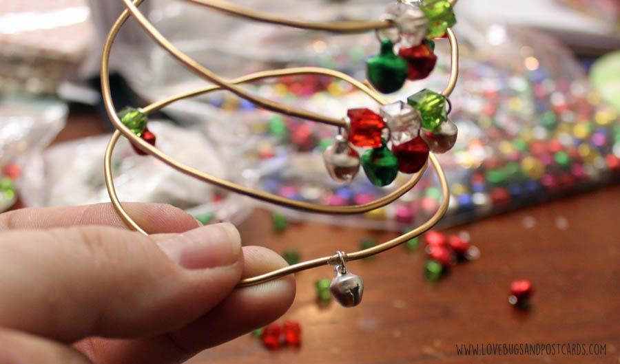 DIY Wire Tree Christmas Craft
