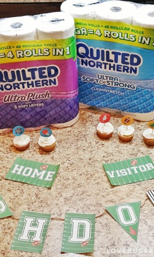 {Free} Printable Football Decorations + Tips for getting ready for the big game